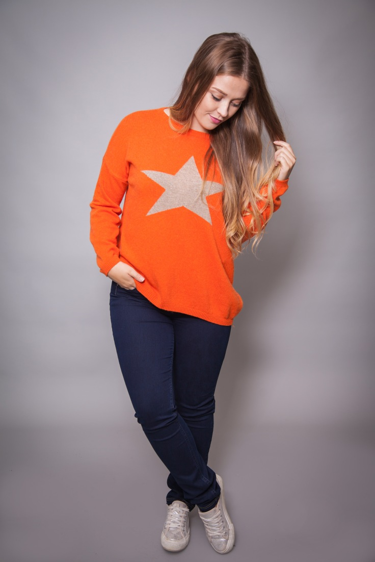 Luella cashmere mix star jumper from Colmers Hill Fashion
